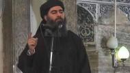 IS-Chef Bagdadi angeblich verletzt