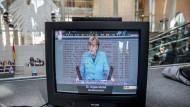 Merkel stellt sich dem Bundestag