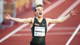 Warholm läuft Hürden-Europarekord