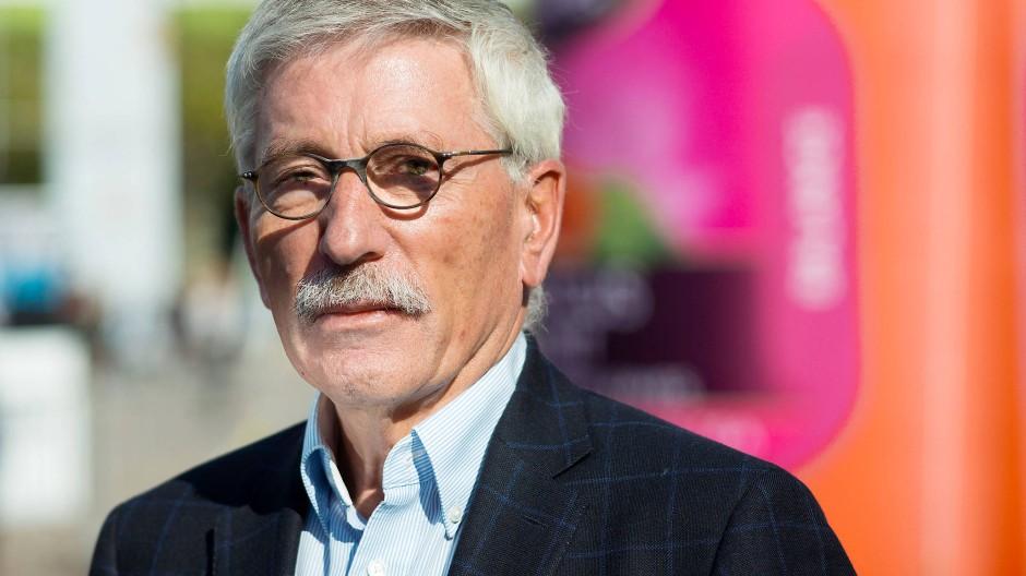 Thilo Sarrazin 2018 auf der Frankfurter Buchmesse