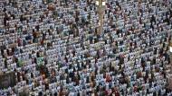 Hunderttausende Gläubige in Mekka