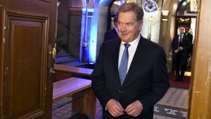 Amtsinhaber Niinistö gewinnt Präsidentschaftswahl