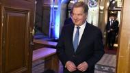 Amtsinhaber Niinistö gewinnt finnische Präsidentschaftswahl