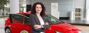 Opel-Marketingchefin Tina Müller