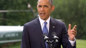 Obama lässt sich die Ruhe nicht nehmen