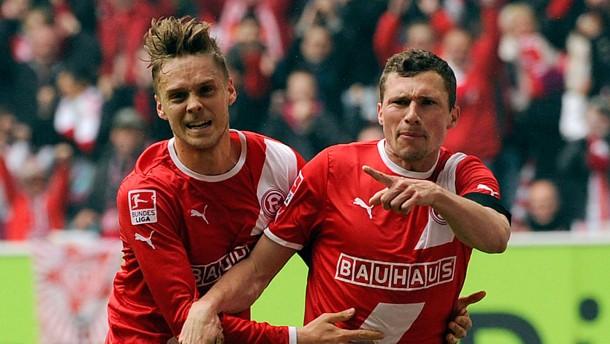 Düsseldorf fordert Hertha heraus