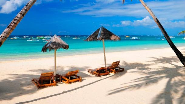 Strand, Insel Boracay, Philippinen, Südostasien
