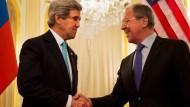 Kerry und Lawrow uneins über die Ukraine