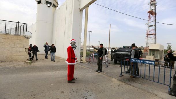 Gewaltsame Zusammenstöße in Bethlehem