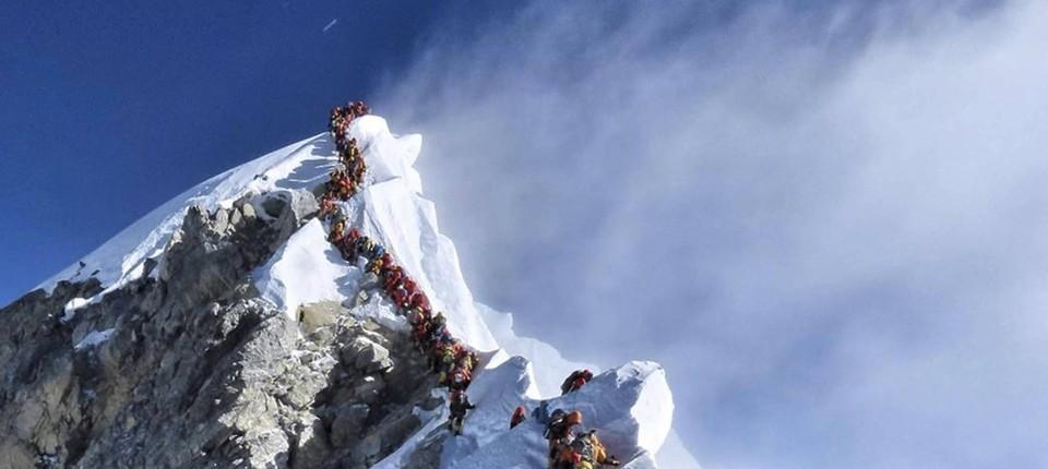 Das Geschäft mit dem Everest