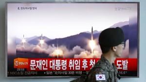 Nordkorea testet offenbar neuen Typ von Rakete