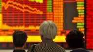 Schwere Kursverluste an der chinesischen Börse