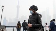 Shanghai versinkt im Smog