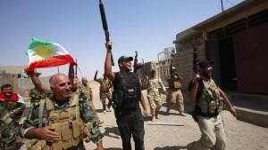 Kurden drängen IS-Terrormiliz zurück