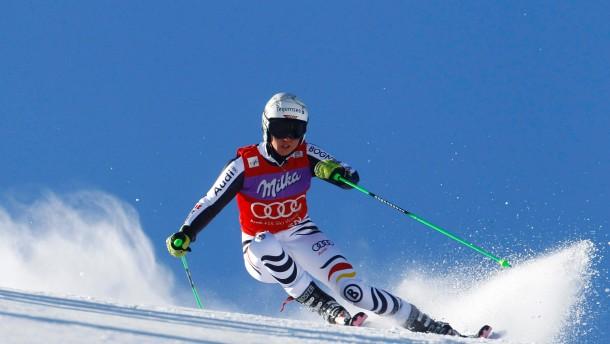 Auf dem Sprung zur kompletten Skifahrerin