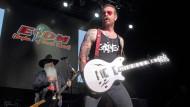 Gerne im Vordergrund: Eagles of Death Metal Frontmann Jesse Hughes