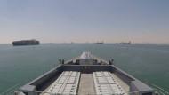 Der Zerstörer HMS Duncan der britischen Marine überwacht seit dem 28. Juli die Passage an der Straße von Hormuz.