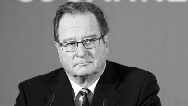 FDP-Politiker Klaus Kinkel ist tot