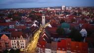 Blick auf die Erfurter Altstadt