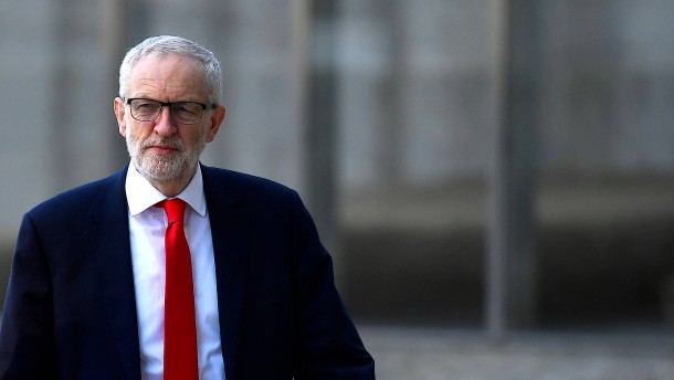 Jeremy Corbyn wirbt in Brüssel für alternativen Brexit-Plan