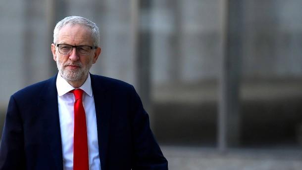 Jeremy Corbyn wirbt in Brüssel für alternativen Brexit-Plan