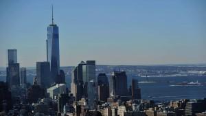 Justin spaziert aufs One World Trade Center