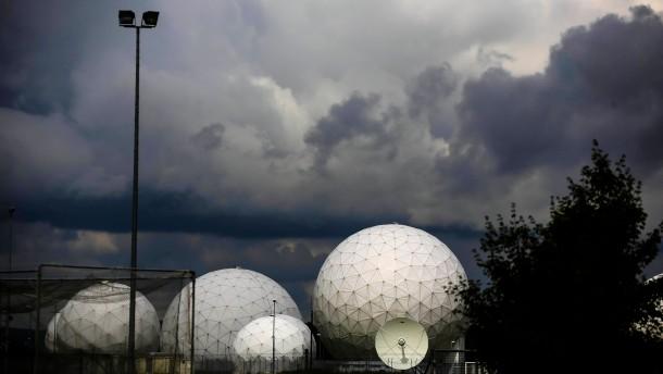 Vermutete NSA Anlage Bad Aibling