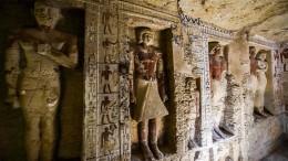 Archäologen entdecken extrem gut erhaltene Grabkammer