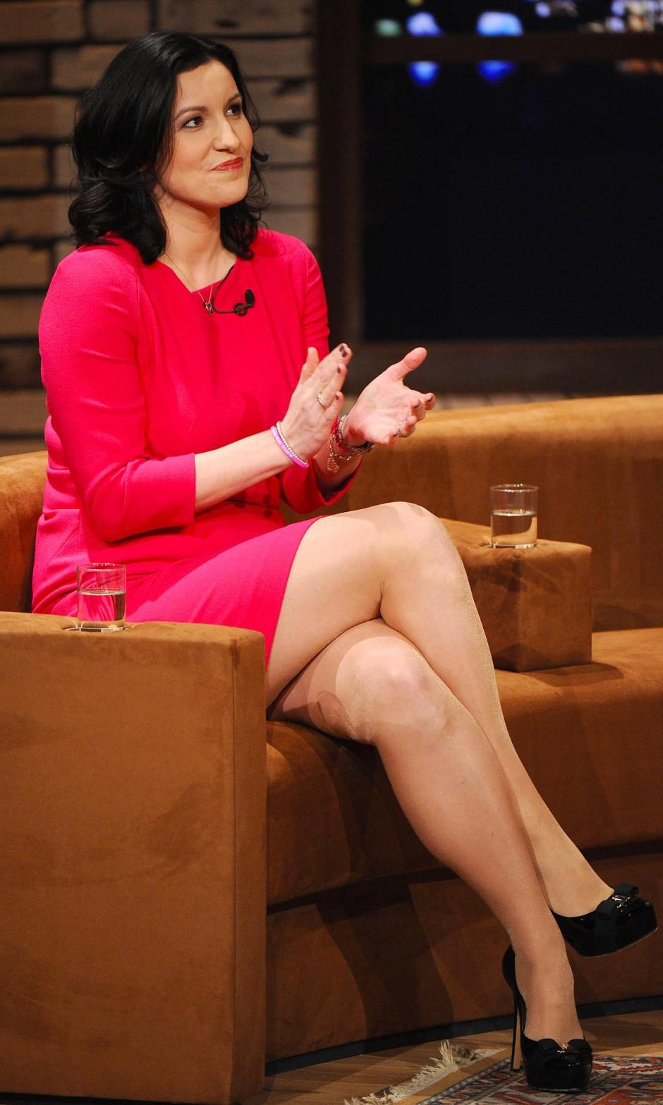 """Unions-Politikerin Dorothee Bär in einer Talkshow: """"Eine Göttin wie in der griechischen Mythologie"""""""