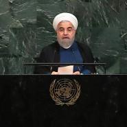 Der iranische Präsident Hassan Rohani erklärte am Mittwoch bei seiner Rede vor den Vereinten Nationen, sein Land halte sich an das Atomabkommen.
