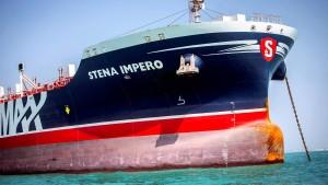 """Iran gibt britischen Tanker """"Stena Impero"""" frei"""