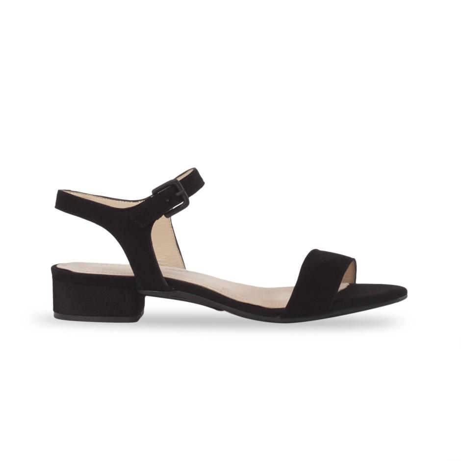 .... bequem: Die Absatzhöhe der Schuhe von Mime et Moi lässt sich variieren.