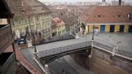Selbstverständlich multikulturell: Die Altstadt im rumänischen Hermannstadt