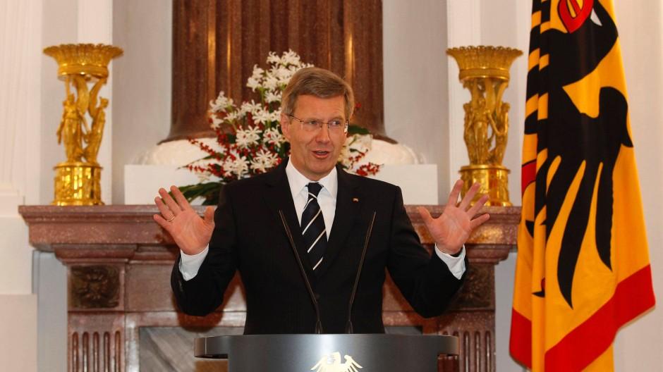 """Christian Wulff: """"Dieses Verhalten steht uneingeschränkt in Einklang mit den Regelungen des niedersächsischen Ministergesetzes"""""""