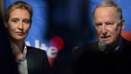 AfD zieht mit Gauland und Weidel in den Wahlkampf