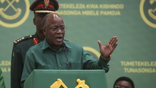 Tansanias Präsident John Magufuli ist gestorben