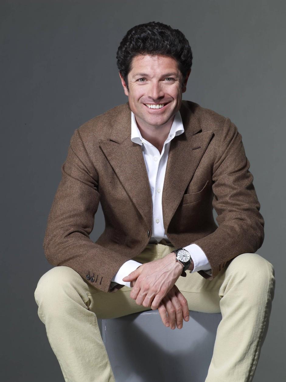 Gewinnendes Lächeln: Matteo Marzotto