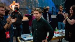 Kevin Kühnert als Juso-Vorsitzender wiedergewählt