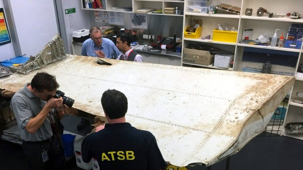 Trümmerteil stammt höchstwahrscheinlich von MH370