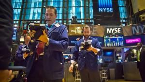 Die Wall Street backt kleinere Brötchen