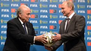 Blatter gibt die Note 9,25 von 10