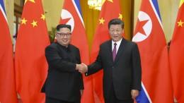 Chinas Präsident unterstützt Nordkoreas Kurs