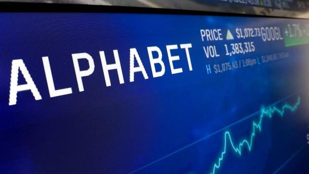 Google-Holding Alphabet überzeugt
