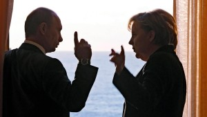 Feature Merkel and Putin
