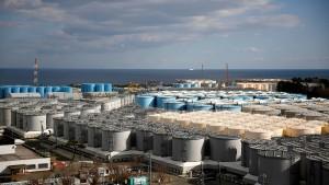 Japan erwägt Entsorgung radioaktiven Wassers im Meer