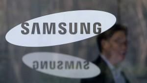Samsung gibt Gewinnwarnung heraus