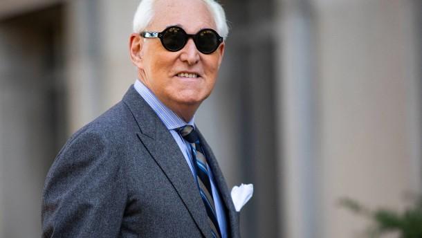 Trump erlässt langjährigem Vertrauten Stone die Haftstrafe