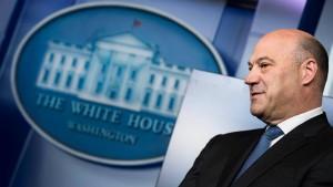 Trumps oberster Wirtschaftsberater tritt zurück
