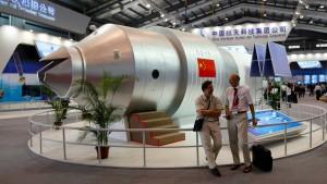 """Tiangong 1"" stürzt über Südpazifik ab"