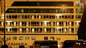 """""""Azamara Quest"""" erreicht Hafen"""